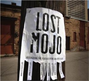 Lost mojo sign