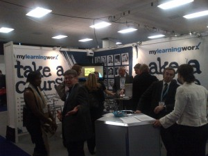 mylearningworx at Learning Technologies 2013