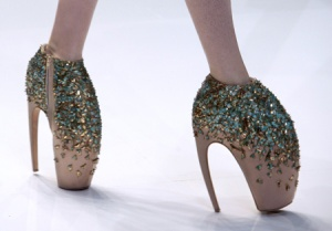 Crazy shoes...a wearable trend? Maybe not! Photo credit: Flickr CC.